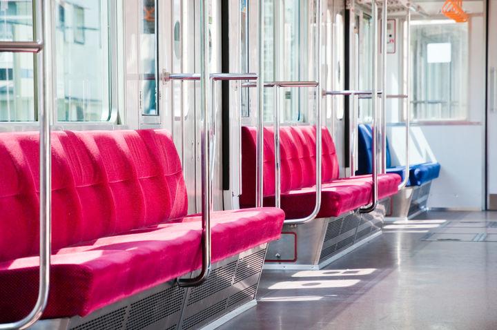 電車の椅子