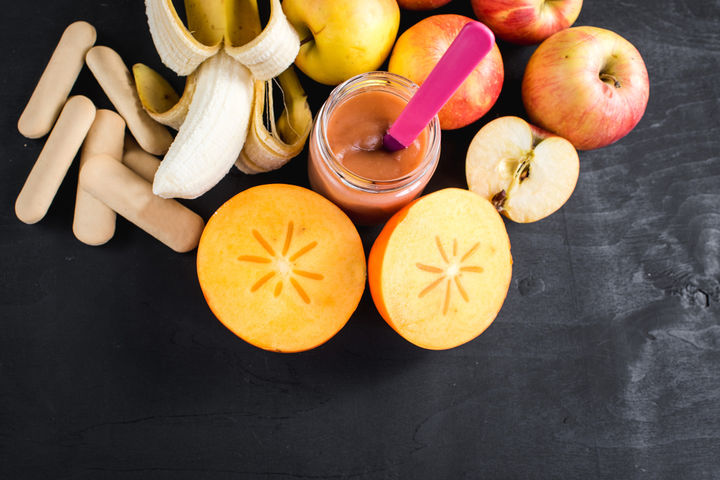 離乳食の柿ペースト