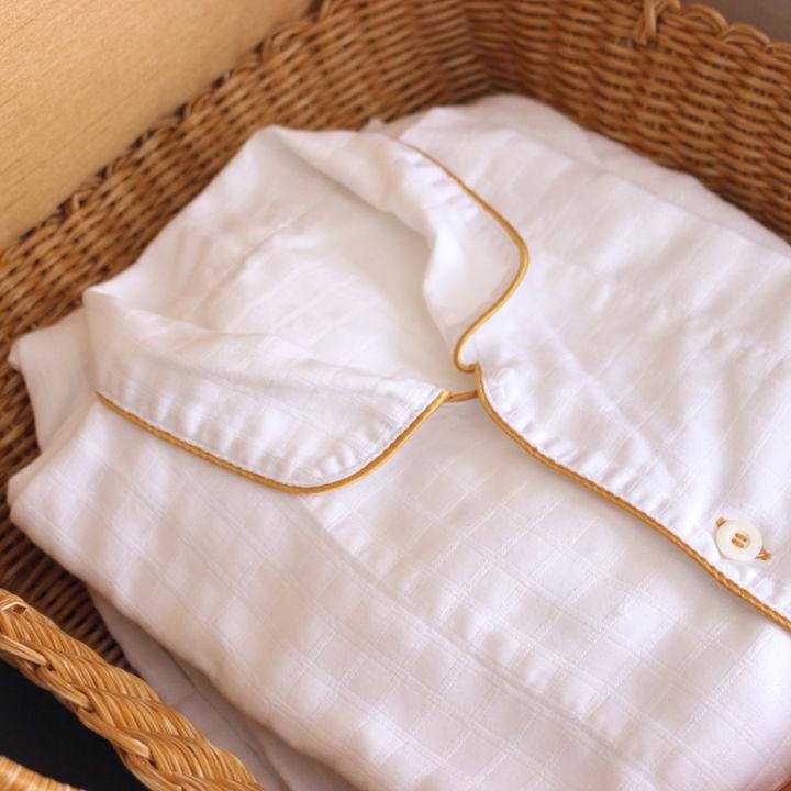 産後に着るパジャマについて。前開きのものなど選ぶときのポイント