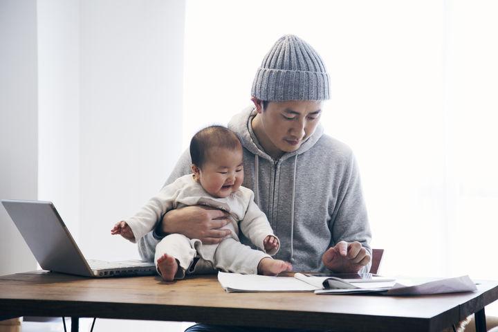 赤ちゃんとパパの部屋