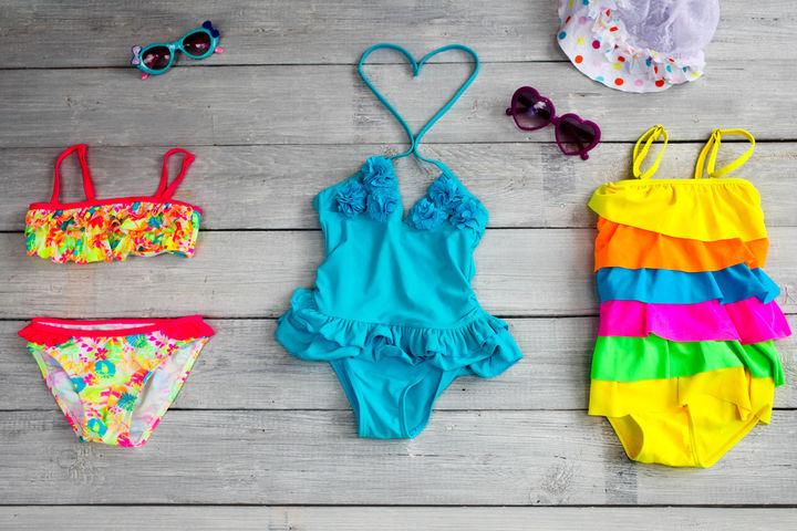 幼児の水着