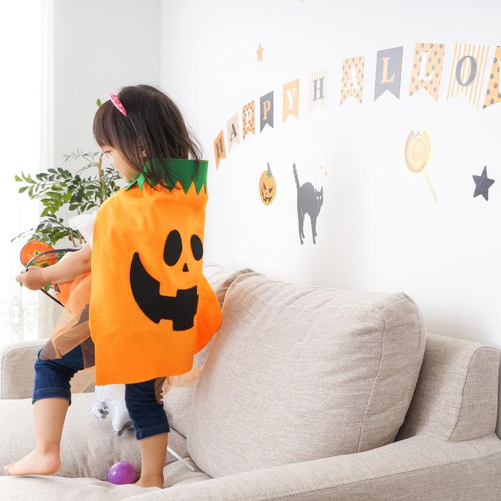 ハロウィンを子どもと楽しむ仮装やメイク