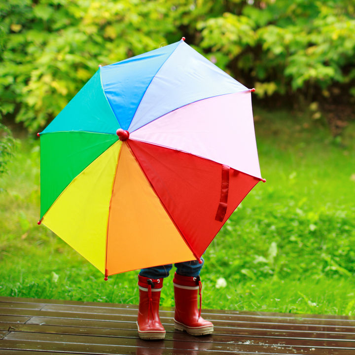 子どもの傘デビュー。サイズ表記の意味や選び方を調査