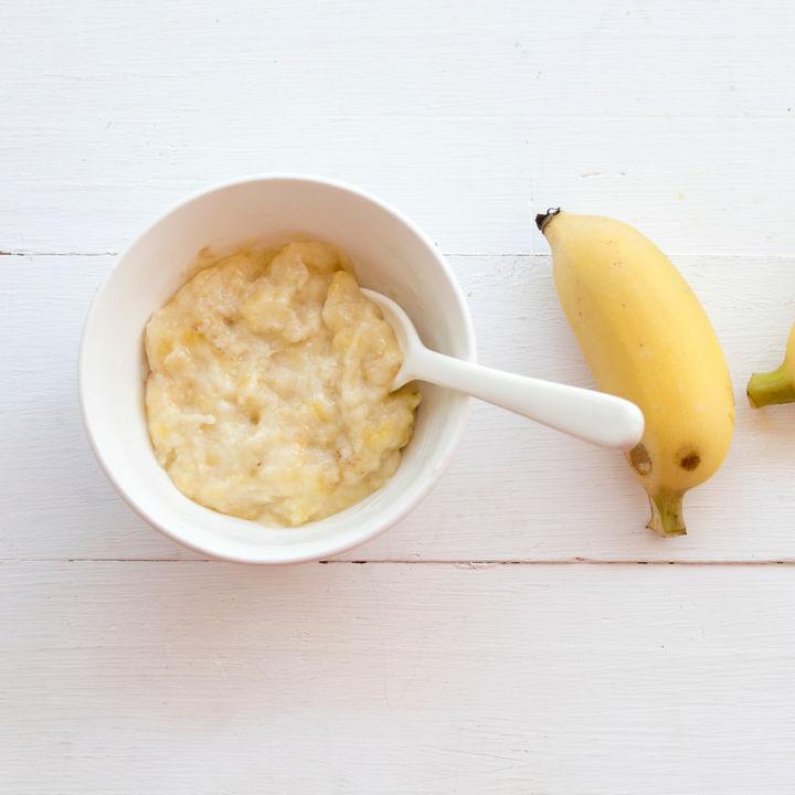 離乳食のバナナはいつまで加熱する?バナナは冷凍保存できるのか