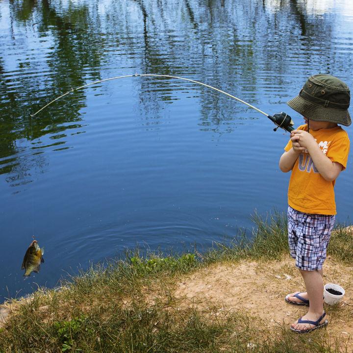 パパと子どもの釣竿選び。釣りが楽しくなるセットなど
