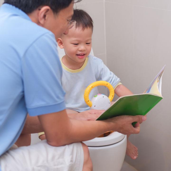 パパのトイレトレーニングへの関わり方。ポイントや意識すること