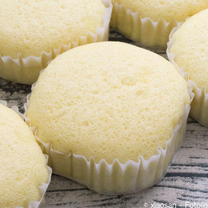 【離乳食後期】電子レンジで作るふわふわ蒸しパンレシピ