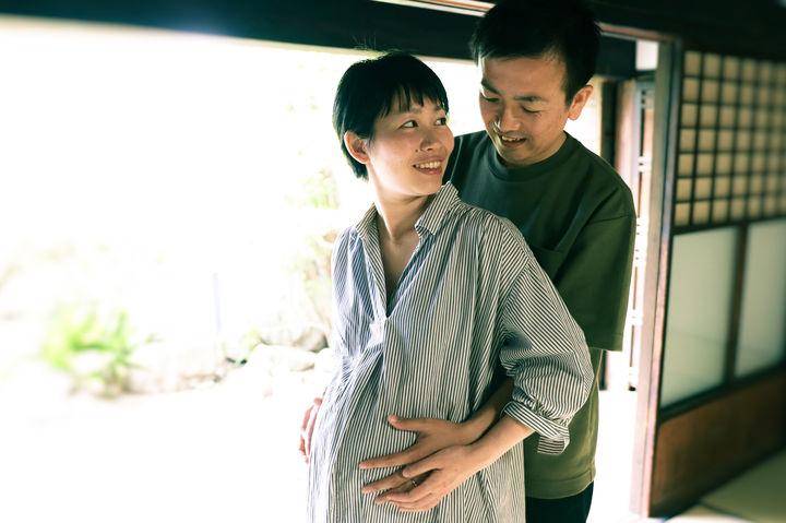 妊婦の夫婦