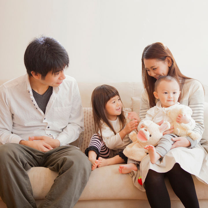 仲良し家族の秘訣は何か。マイルールや家族ルールを調査。