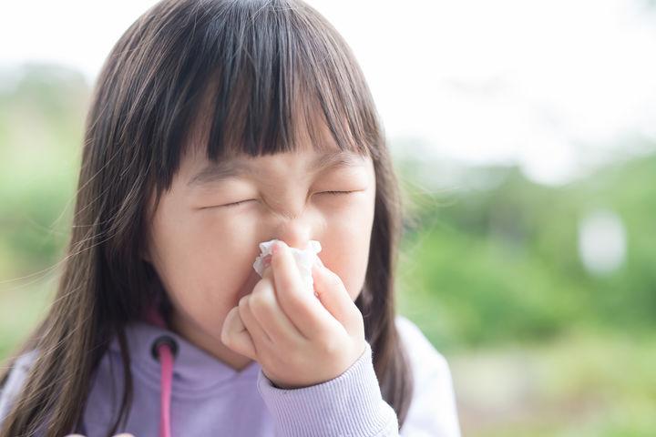 副鼻腔炎の子ども