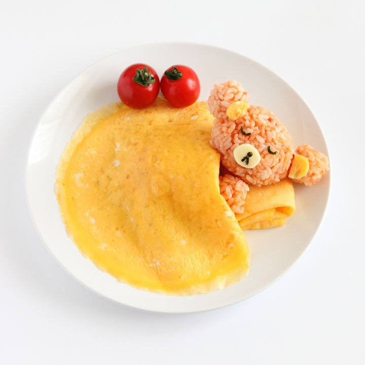 離乳食完了期のオムライスのアレンジレシピ。オムライスおにぎりなど