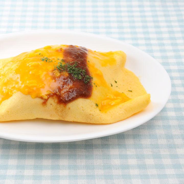 離乳食後期のオムライスの簡単アレンジレシピ。オムライス風おやきなど