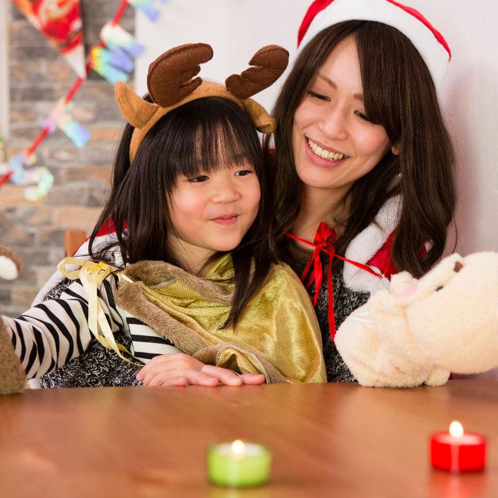 4歳の子どもと楽しいクリスマスをすごそう。準備や楽しむための工夫