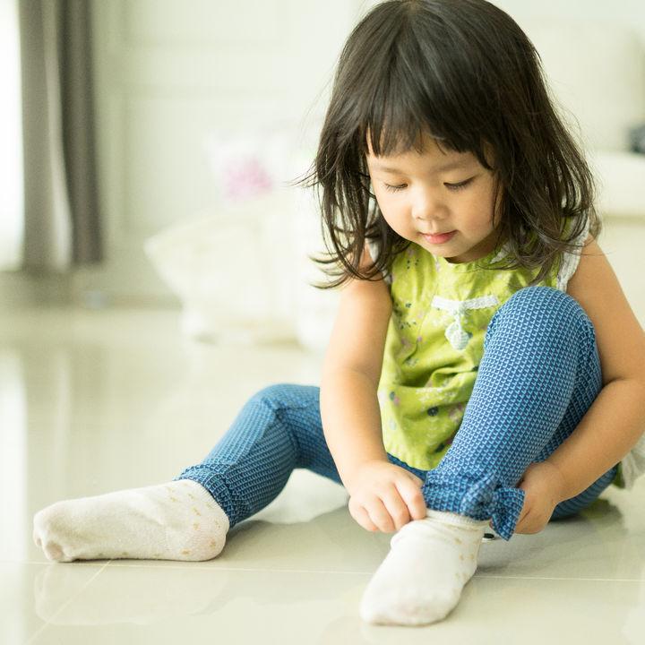 幼稚園で使う靴下の選び方。サイズや長さ、色などを選ぶときのポイント