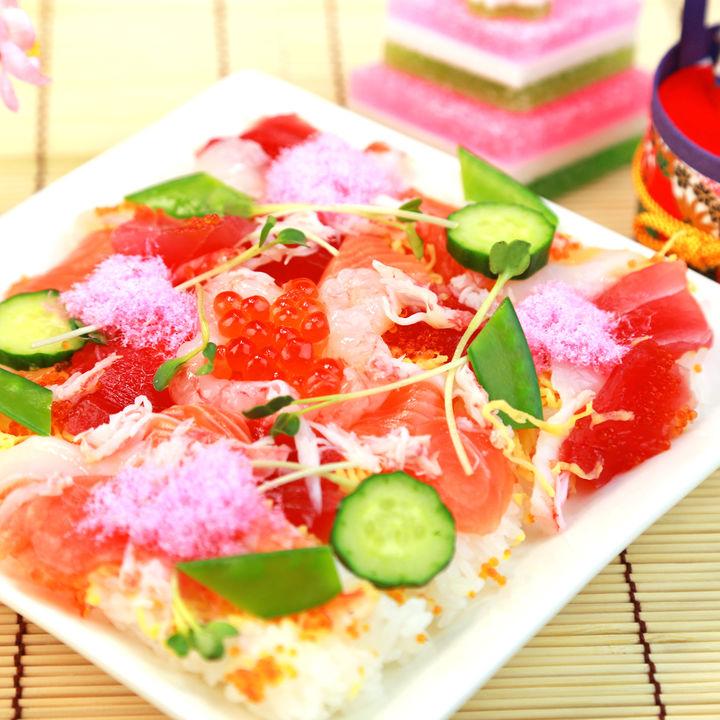ひな祭りの簡単幼児食レシピ。ちらし寿司やお吸い物、ピンチョスなど