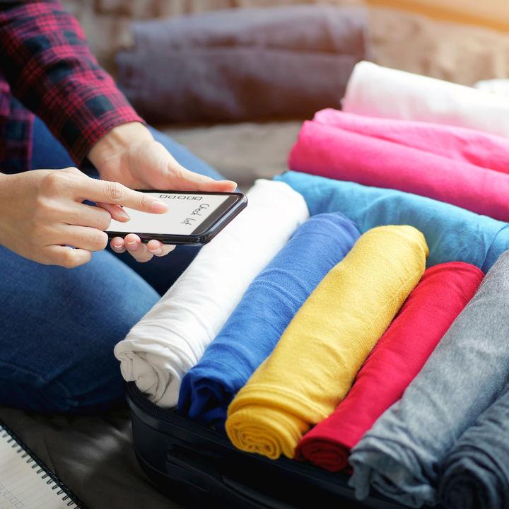 家族旅行の荷物リストは?スーツケースや用意したバッグなど