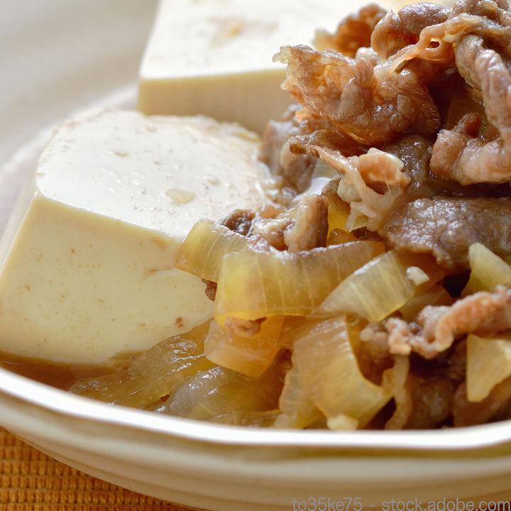 牛肉と豆腐を使った離乳食の簡単レシピ。使うときに気をつけたいこと