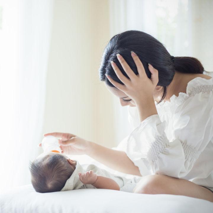 マタニティーブルーはいつからいつまで?産後、妊娠中ママの体験談