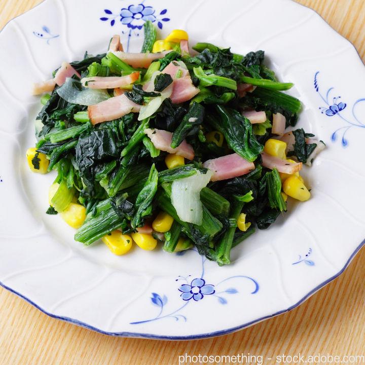 幼児食のほうれん草レシピ。苦手な子どもにもおいしく食べてもらうためのポイント
