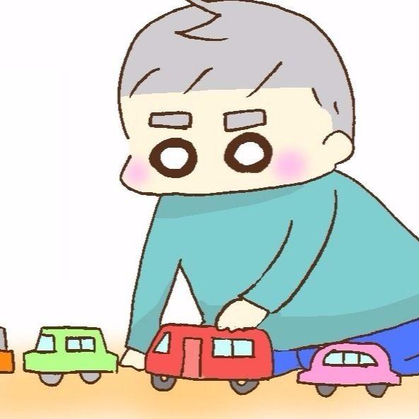 【きりんのびのび絵日記】第27話 クルマのおもちゃ