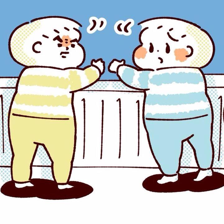 【ふたご育児】第30話 いきむ幼児の凛々しさ