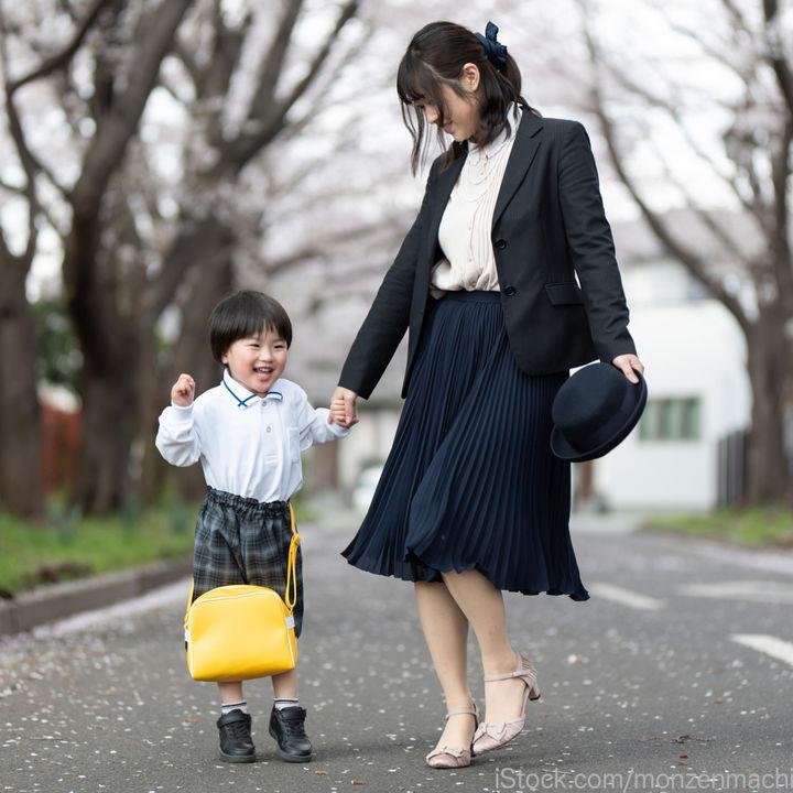 春に行われる幼稚園の参観日。服装の選び方や意識したこと