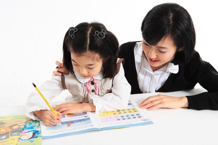 習い事を体験する子ども