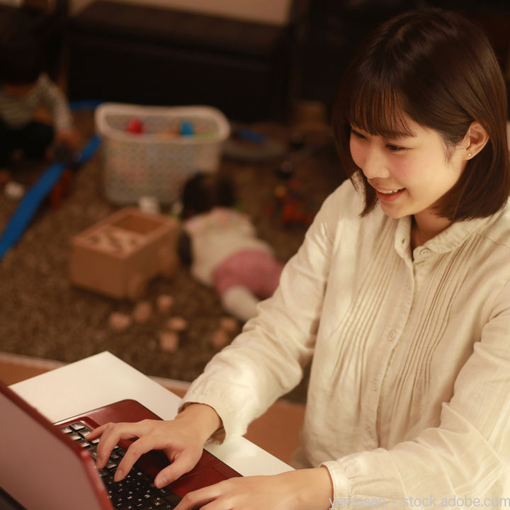 主婦ができる内職は何がある?軽作業やデータ入力など在宅ワークの種類と収入