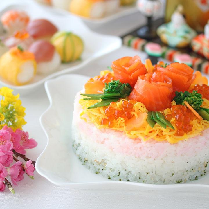 ひな祭りの食べ物の意味とは?定番のちらし寿司やかわいいお菓子を作ろう