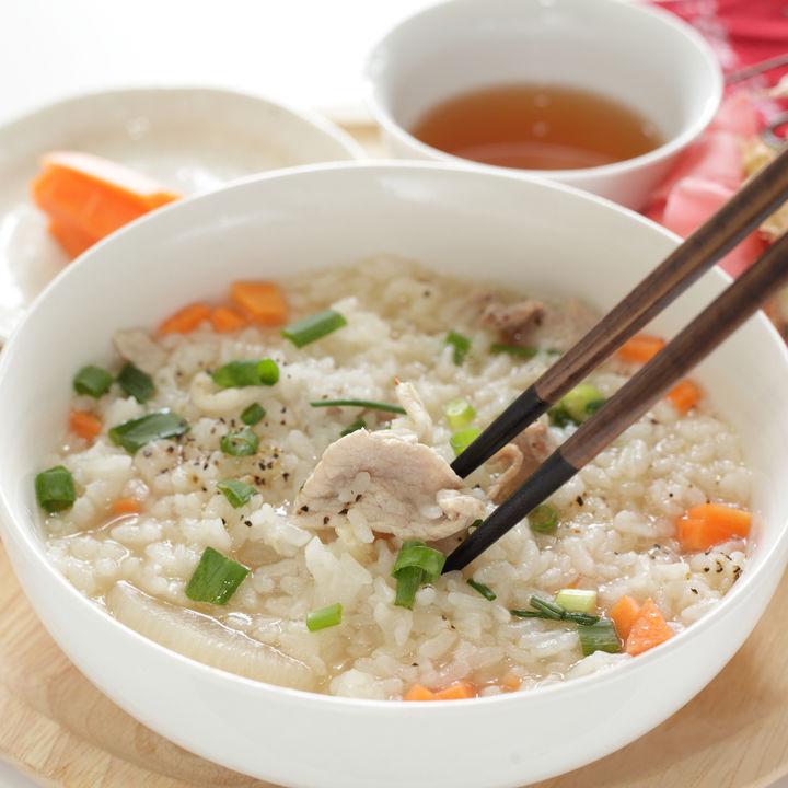 雑炊の付け合わせを作って食事を楽しもう。子どもがおいしく食べられるレシピ