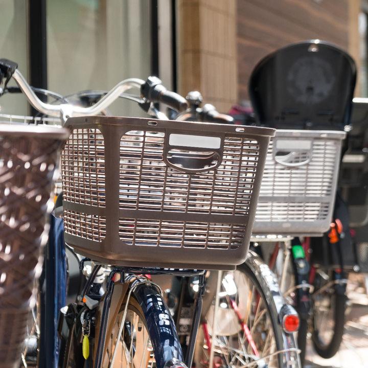子ども乗せ自転車につけるカゴ。子どもの乗り方とカゴの設置について