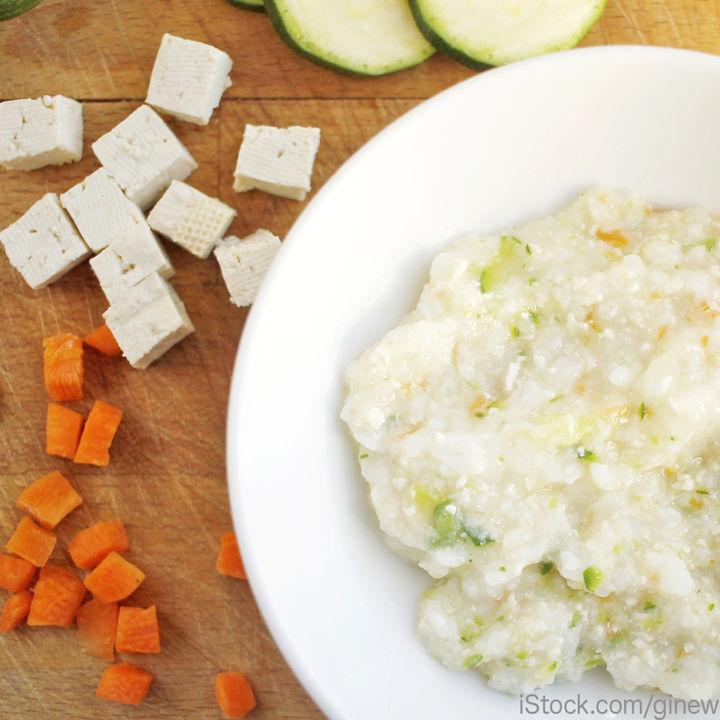 ごっくん期の豆腐レシピ。離乳食に豆腐を取り入れるときのポイント
