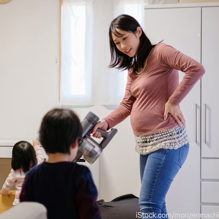 妊娠中の掃除はどうしている?大変なときの工夫や気をつけたいこと