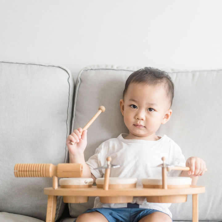 幼児のドラムはいつから習うことができる?練習方法や楽譜の見方